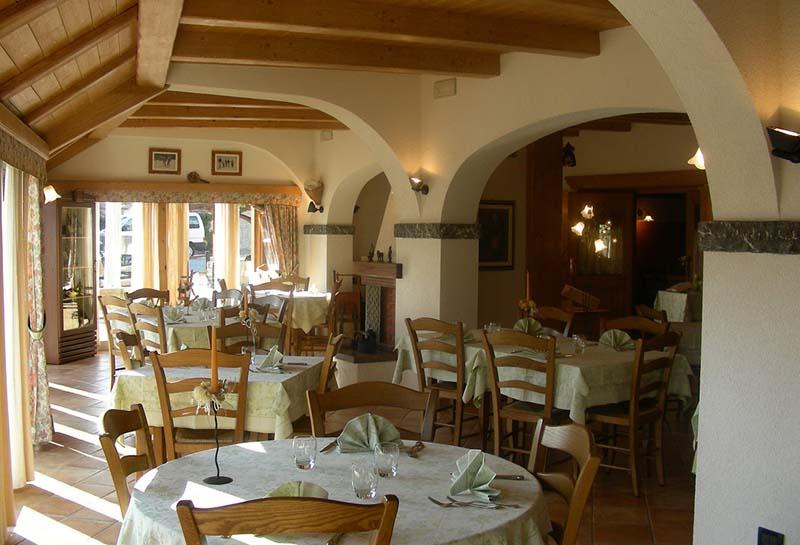 sala del camino ristorante carnia