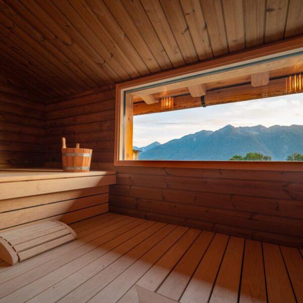 sauna wellness carnia